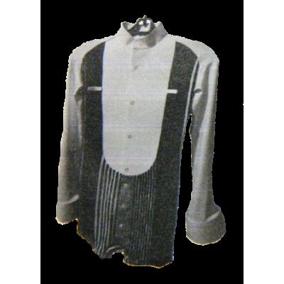 Мужская фрачная приталенная рубашка.