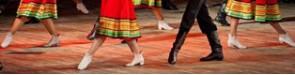 Folk dancing.