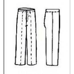 Trousers are men's training