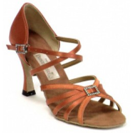 Zapatos de bailes latinos modelo de 1416 DanceMaster.