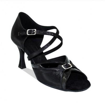 Туфли женские для латиноамериканских танцев модель 163.