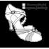 Туфли женские для латиноамериканских танцев модель 164.
