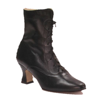 Folk-character women's ankle boots with 755 Dansmaster.