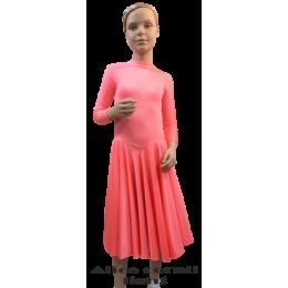 Платье для танцевальных конкурсов и выступлений рейтинговое танцевальное Алиса.
