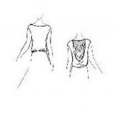 Тренировочная блуза БТ01 универсальная Дансмастер.