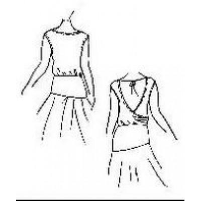 Тренировочная блуза БТ02 универсальная Дансмастер.