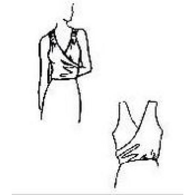 Тренировочная блуза БТ03 универсальная Дансмастер.