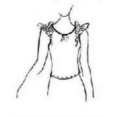 Тренировочная детская блуза БТД01 универсальная Дансмастер.