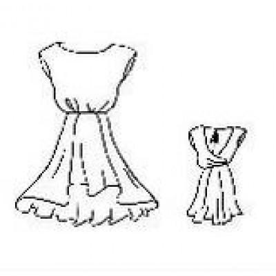 Платье танцевальное тренировочное для девочки .