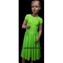 Платье для танцевальных конкурсов и выступлений рейтинговое танцевальное Карина.