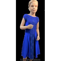 Платье для танцевальных конкурсов и выступлений рейтинговое танцевальное Любава