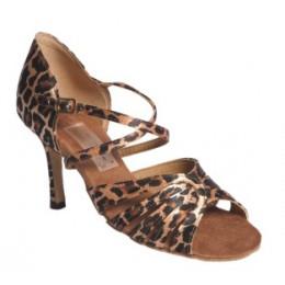 Los zapatos para los bailes latinoamericanos el modelo 1411.