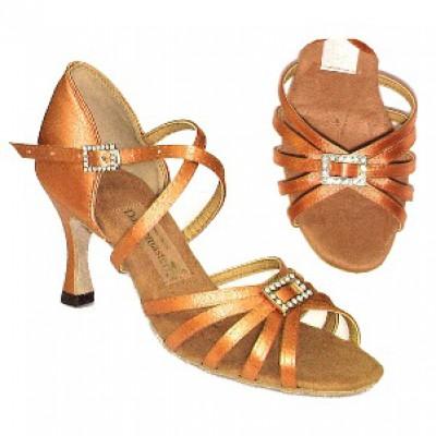 Туфли женские для латиноамериканских танцев модель 1414.
