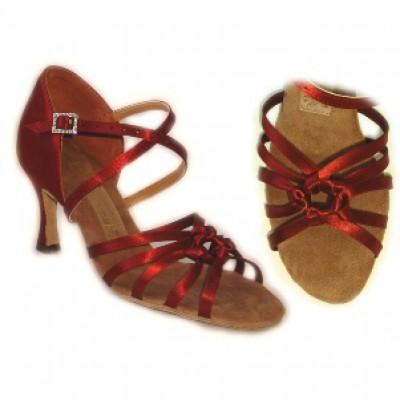 Туфли женские для латиноамериканских танцев модель 1715.