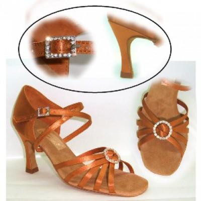 Туфли женские для латиноамериканских танцев модель 1741.