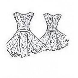 Платье для танцевальных конкурсов и выступлений рейтинговое танцевальное Полина