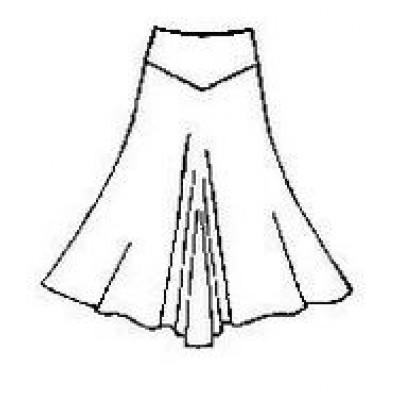 Тренировочная юбка ЮТ01.