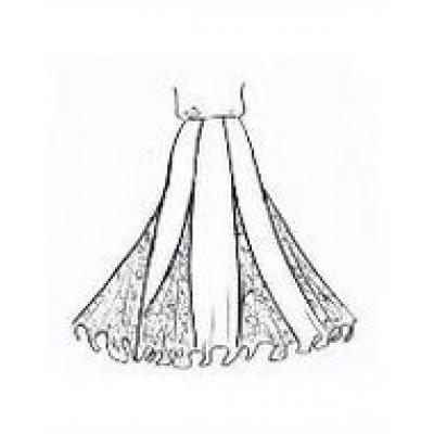 Тренировочная юбка ЮТ021.
