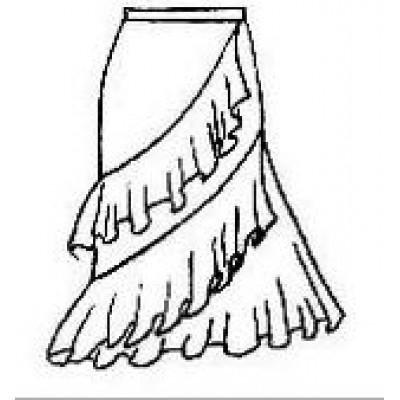 Тренировочная юбка ЮТ04.