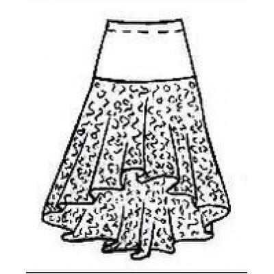 Тренировочная юбка ЮТ051.