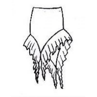 Тренировочная юбка ЮТ06.