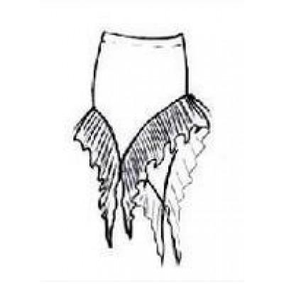 Тренировочная юбка ЮТ061.