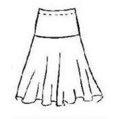 Тренировочная юбка ЮТ07 для европейской программы.